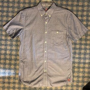 American Eagle Short Sleeve Button Up Size XS